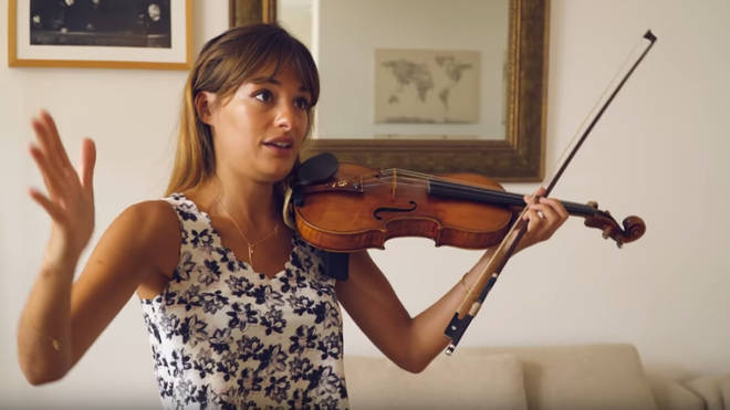 Violinist Nicola Benedetti presents educational video series, 'With Nicky'