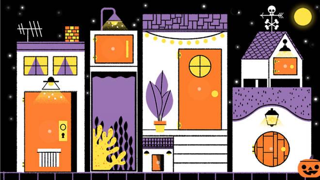 Download Google Doodle Halloween
