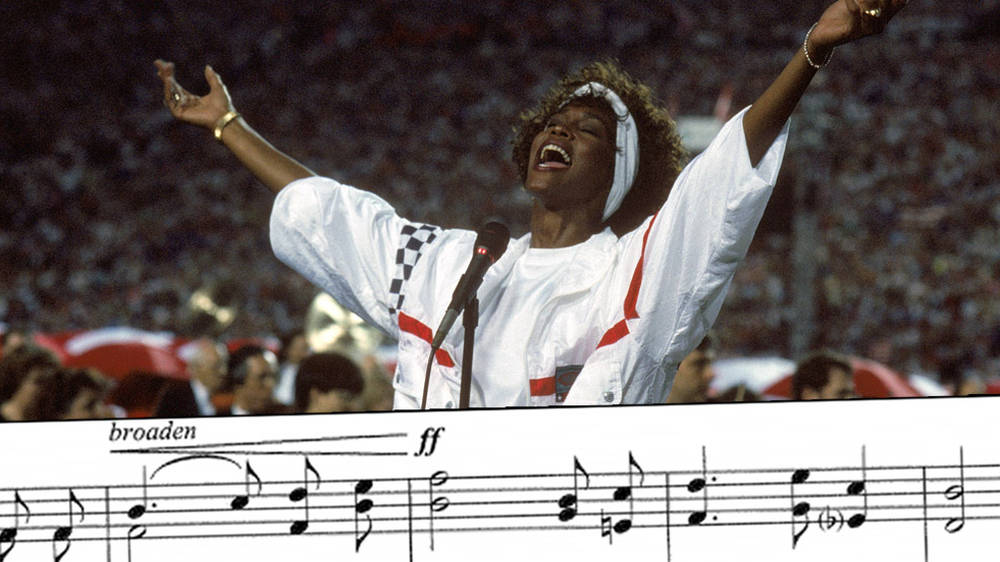 What are the lyrics to the US National Anthem, The Star