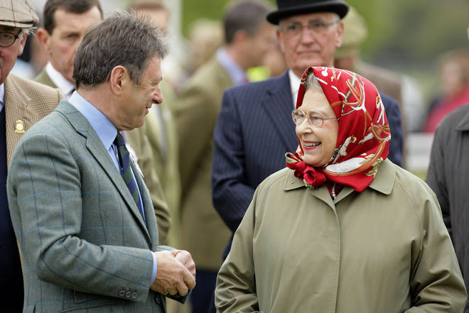 Alan Titchmarsh and the Queen