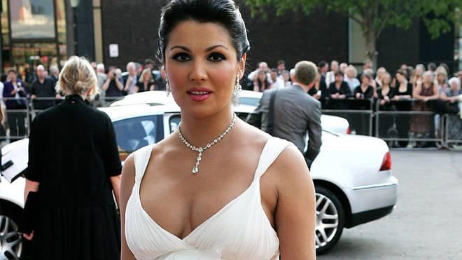 Anna Netrebko at the 2008 Classical BRIT Awards
