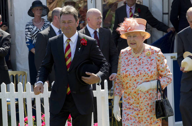 Alan Titchmarsh shares the Queen's hilarious comments