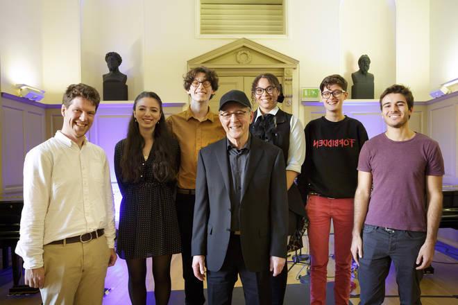 Steve Reich at Trinity Laban Conservatoire