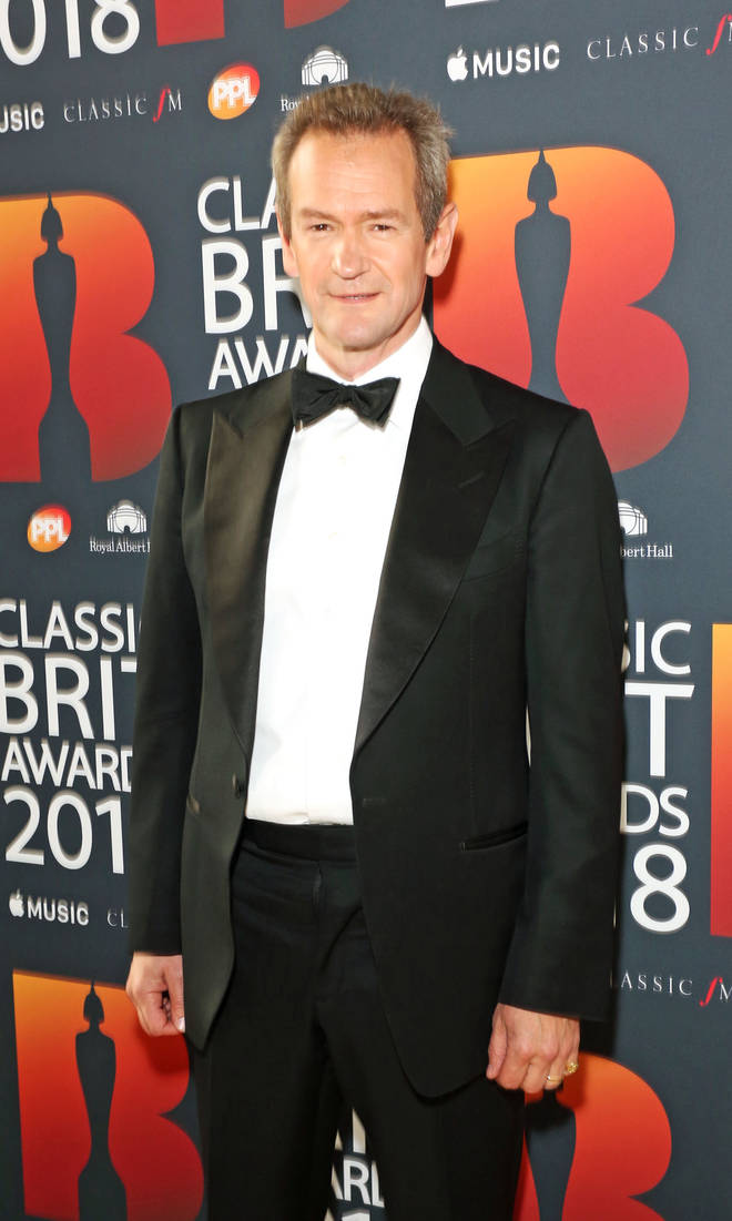 Alexander Armstrong at the Classic Brits 2018