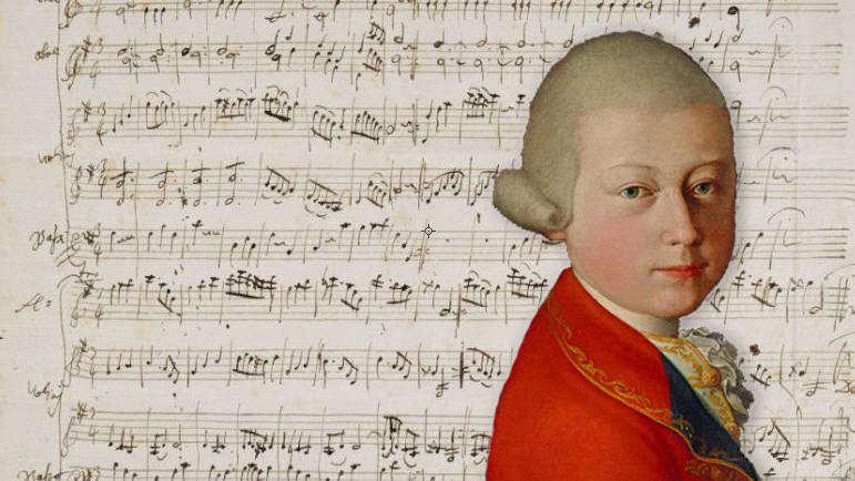 Early Mozart manuscript sold for £318,400 at Paris auction