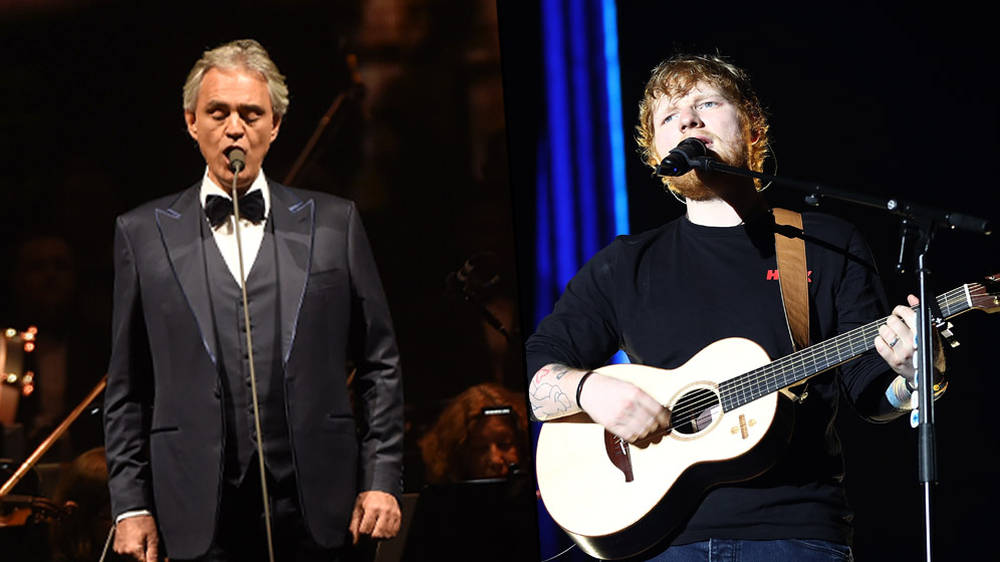 Watch Andrea Bocelli and Ed Sheeran sing 'Perfect Symphony