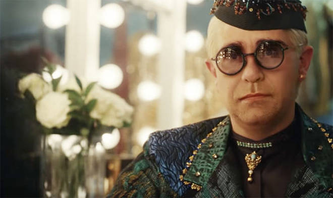 Elton John starred in last year's John Lewis Christmas advert
