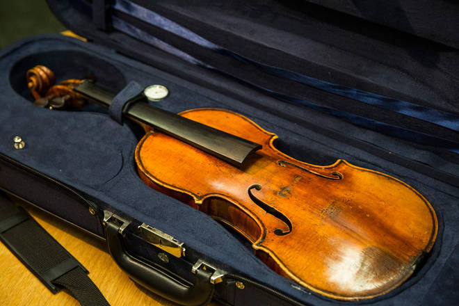 Stolen Stradivarius brought back to life