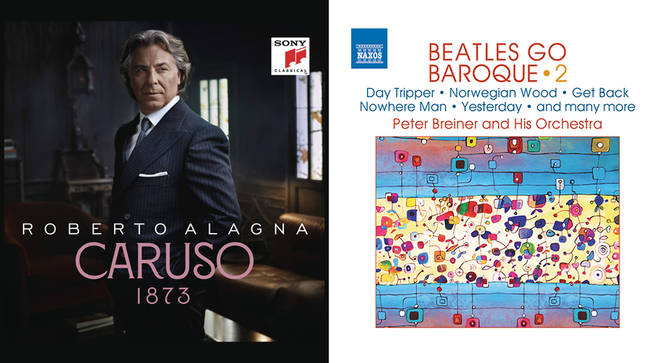 Caruso by Roberto Alagna, and Beatles Go Baroque Vol. 2 by Peter Breiner