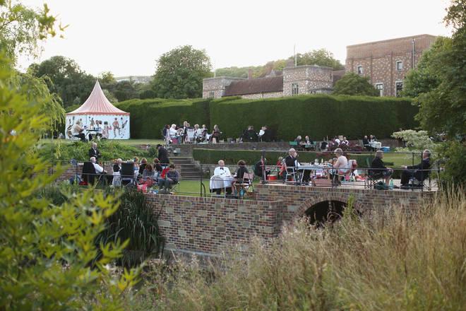 Glyndebourne Opera Festival in Lewes, Sussex