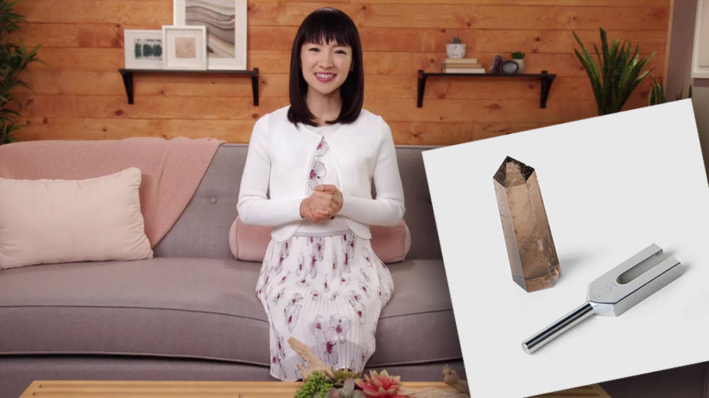 Marie Kondo is selling a $75 therapeutic tuning fork and people are losing their rag