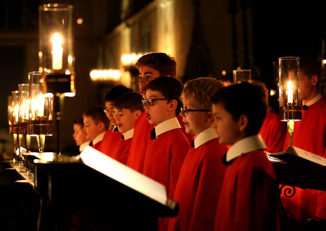 The Choir of King's College, Cambridge sing traditional Christmas carols.