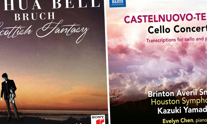 New releases: Joshua Bell - Scottish Fantasy, Brinton Averil Smith - Castelnuovo-Tedesco