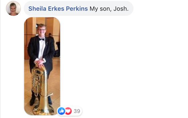 Josh on tuba