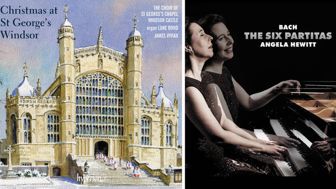 New Releases: Christmas at St George's Windsor; J.S. Bach Partitas