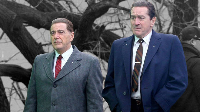 The Irishman stars Robert De Niro